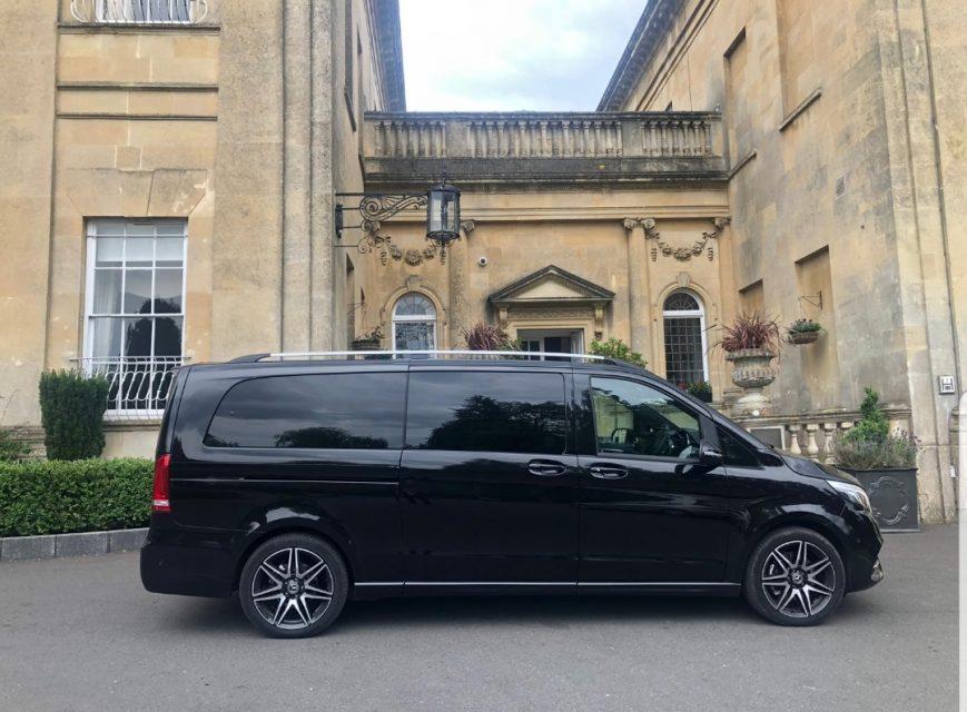 Chauffeur driven v class London
